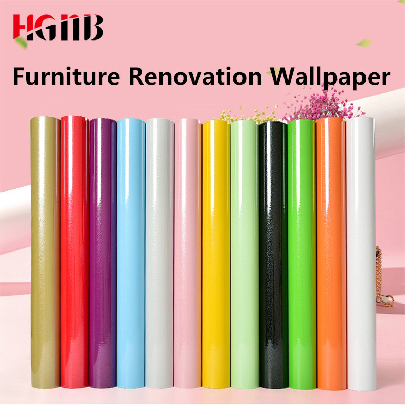 1M/5M/10M Glitter Waterproof Self Adhesive Sticker PVC Vinyl Wallpaper Roll For Kitchen Wall Paper Furniture Desktop Decorative