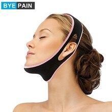 1Pcs BYEPAIN Face Lift Up Belt Sleeping Face Lift Mask Massage Slimming Face Shaper Relaxation Facial