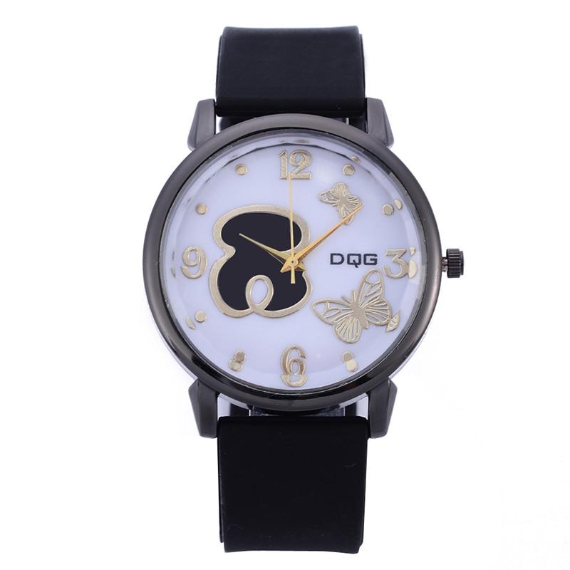 Kobiet Zegarka 2019 New Bear Fashion Women Watch Women Sports Silicone Strap Watches Relogio Feminino Ladies Quartz Wrist Watch