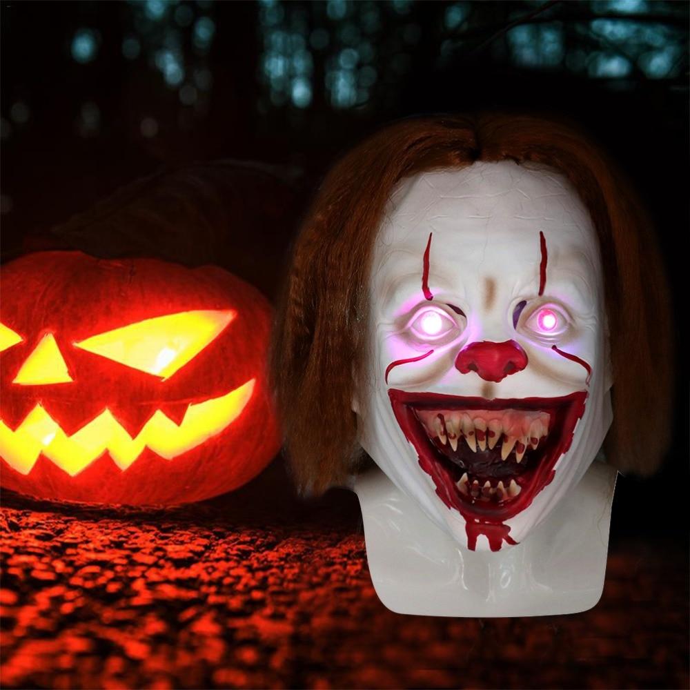 LED-Horror-Pennywise-Joker-Mask-Cosplay-Stephen-King-It-Chapter-Two-Clown-Latex-Masks-Helmet-Halloween