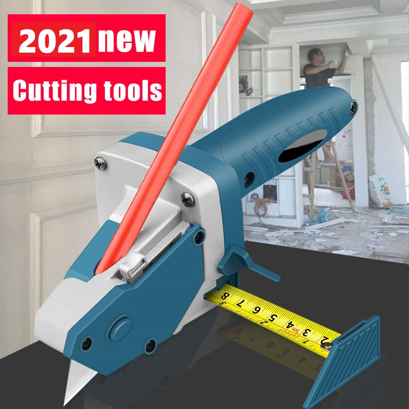 New Plaster Cutter Woodworking Hand Tools Set Cutting Tool Kit Scriber With Scale Cutting Board Tools Drop Shipping