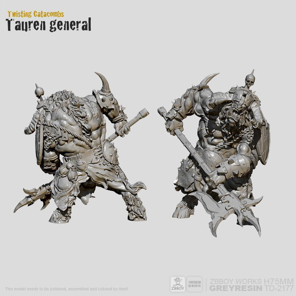<font><b>1/24</b></font> <font><b>75mm</b></font> Self-assembled <font><b>Resin</b></font> Soldier <font><b>Model</b></font> Tauren Soldier <font><b>Resin</b></font> Warrior TD-2177 <font><b>Model</b></font> Figure <font><b>Resin</b></font> <font><b>Kits</b></font> Ornament <font><b>Model</b></font> Wh O7Q0 image