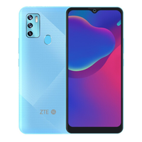 New ZTE Blade V2021 5G Android Phone Dual Sim Fingerprint Dimensity 720 6.52 Inch 18W Charger 48.0MP 4 Cameras Face ID OTA 2