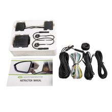 Автомобильная универсальная система обнаружения слепых пятен-радиолокационная микроволна мониторинг слепых пятен-радар Bsd Bsa Bsm Обнаружение слепых зон S