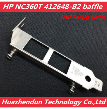 Spot suitable for HP NC360T 412648-B21 network card half-height baffle blank 50pcs free shipping