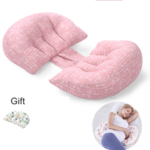 Multi-function U Shape Pregnant Belly Support Pillow Belly Support Side Sleeping Cushion Pregnant Pillow Maternity Accessoires cheap CN(Origin) 56*35*25cm hl02088