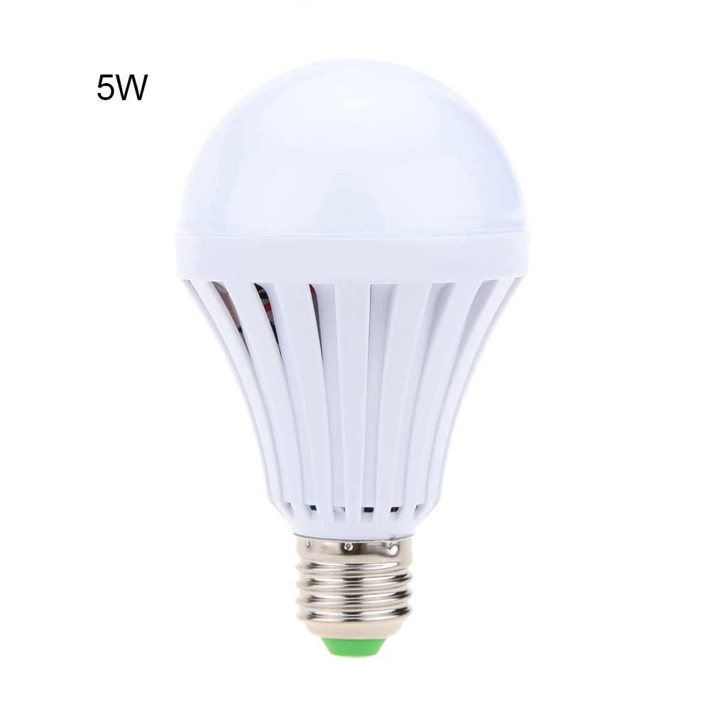 LED Smart Bulb E27 5W-15W LED Emergency Light Rechargeable Battery Lighting Lamp For Outdoor Lighting Bombillas