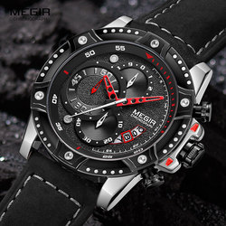 Military Sport Watches Men Top Brand Silicone Strap Army Chronograph Watch Waterproof Wristwatch Man Mle Relogios Masculin