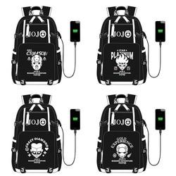 JoJo-sac à dos Adventure, sac à dos d'école de voyage avec Port USB et fermeture éclair, pour étudiants adolescents