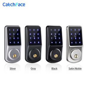 Image 5 - Bluetooth Smart Lock Electronic Door Lock Unlock with TTLock APP Backup Key Digital Lock For Home Office Apartment Hotel School