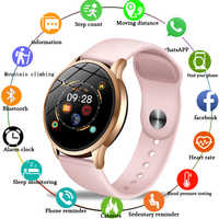 LIGE inseguitore di fitness smart watch delle donne Impermeabile di Sport Per IOS Android phone Smartwatch donne Del Cuore Rate Monitor di Pressione Sanguigna