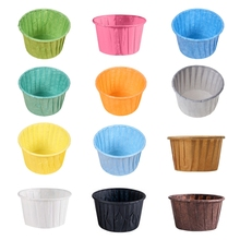 Paper Cup Liner Muffin Cupcake-Wrapper Baking-Cup Wedding Party 50pcs Tray-Case Caissettes