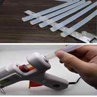 10 stücke 100mm Hot Melt Kleber Stick Transparent Hohe Adhesive DIY Handwerk Spielzeug Reparatur Werkzeug Elektrische Kleber Pistole Handwerk reparatur Werkzeuge