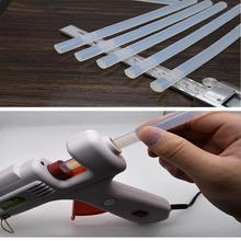 10 шт. 100 мм термоклеевая палочка прозрачная высококлейкая игрушка Сделай своими руками инструмент для ремонта Электрический клеевой пистолет инструменты для ремонта рукоделия