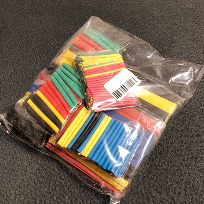 8 Size  Heat Shrink Tubing  Sleeve Wrap Electrical Cable Tube kits Wire Connect