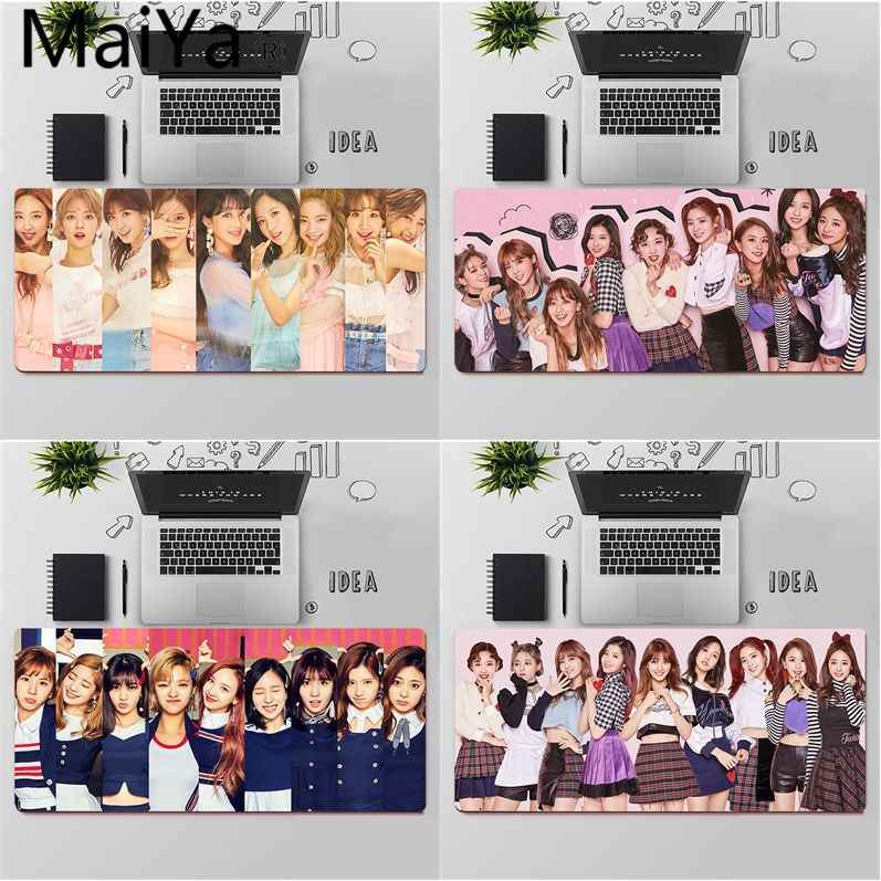Maiyaca Twice Mina Momo Kpop Comfort Mouse Mat Gaming Mousepad Xl Speed Keyboard Mouse Mat Laptop Pc Notebook Desk Pad Mouse Pads Aliexpress