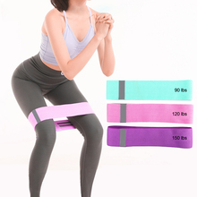 Training Fitness Resistance Band For Leg, Abdomen, Hip Crossfit Bands Pilates Sport Workout Yoga Rubber Loops 3PCS