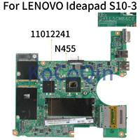KoCoQin Laptop anakart Için LENOVO Ideapad S10-3 Anakart DAFL5CMB6C0 11012241 N455