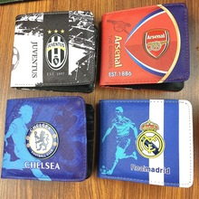 EDBETOS One Piece The premier league English England Football Soccer Fabric and Leather Wallet the premier league english england football soccer famous team straps backpacks luminous motor backpacks travel motorcycle