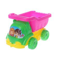 4 шт./компл. мини песчаная пляжная игра автомобиль грабли игрушки дноуглубительный инструмент для детей мальчиков девочек открытый подарок ...