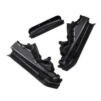 3 teile/satz Auto Motor Obere Fach Partition Panel Set Für BMW X5 X6 E70 E71 E72 51717169419 51717169420 51717169421