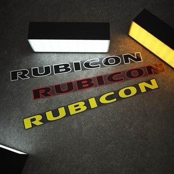Car Styling Vinyl Sticker Automobile Engine Hood Cover Decals for Jeep Wrangler RUBICON Renegade Wrangler JK Cherokee 1