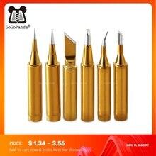 Gratis Verzending Hoge Kwaliteit Vervanging Soldeerbout Tip Leader Gratis Tip Inner Gold Kleur Verkocht Door 1 Pc