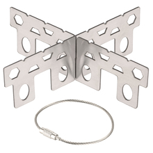 Titanium Alcohol Stove Rack Cross Stand Outdoor Camping Stove Stand Support Rack