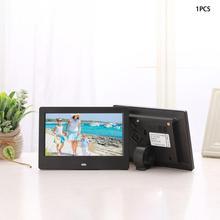 7-дюймовый ЖК-дисплей для Широкоэкранный со светодиодной подсветкой и высокой четкостью изображения электронный фотоальбом цифровая фоторамка настенные цифровых носителях рекламы подарок