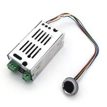 K215 V1.3 + R502 Aノーマルオープンリレー指紋アクセス制御ボードオートバイドアロック車