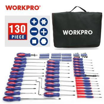 WORKPRO Screwdriver Set 130 in 1 Torx Multi Function Screw driver Repair Tools for Phones Precision Screwdriver Bit set