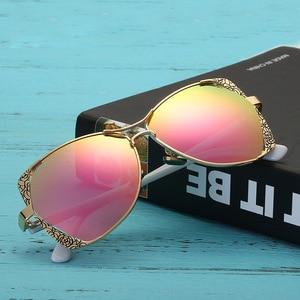 Image 2 - 2018 Star Style HD Polarized Women Luxury Sunglasses Brand Designer latest female UV400 ladies Sun Glasses with box