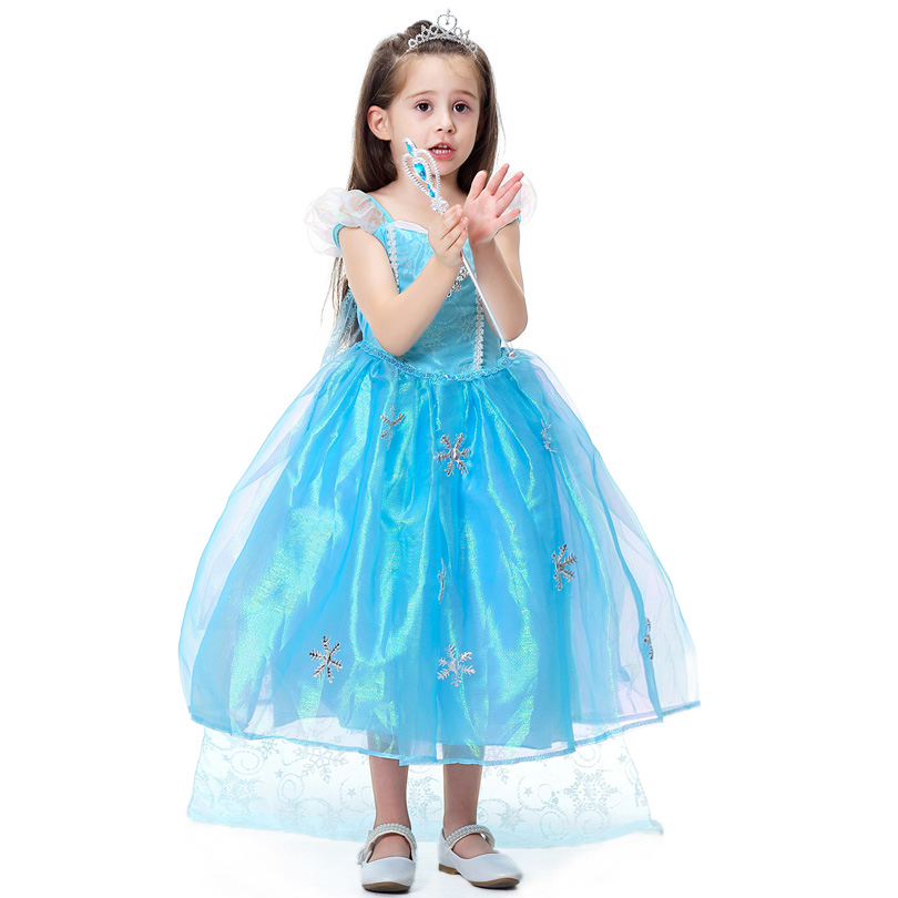 2020 Cute Fancy Halloween Party Girls Dress Princess Anna Elsa Cosplay Clothing Costume Kids Girl Role Play Dress Fantasia 3 10t Buy At The Price Of 2 09 In Aliexpress Com Imall Com
