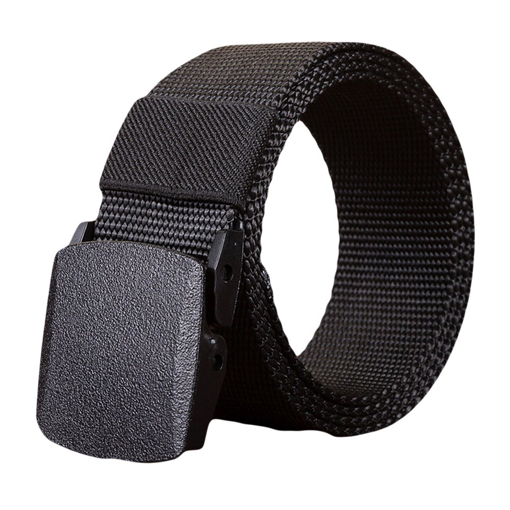 Jaycosin Fashion Man Women Automatic Nylon Belt Buckles Unique  Popular Easy Comfortable High Quality Canvas Belt
