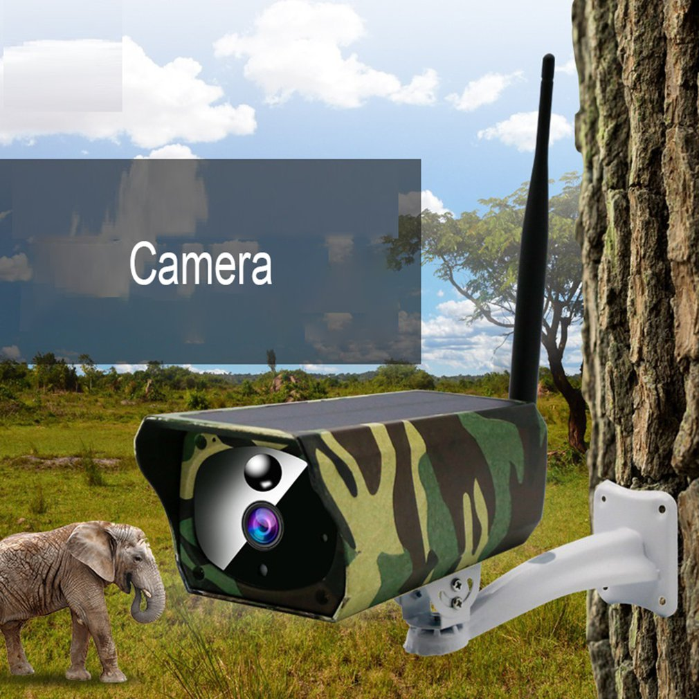 VS-Y4M WIFI Waterproof Solar Camera Wireless Intelligent Security Surveillance Camera Night Vision Audio CCTV
