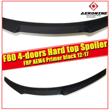 цена на F80 2-Door Hard Top tail Rear Spoiler Wing AEM4 Style FRP Unpainted  For 4 series 420i 430i 430iGC 440i Rear Spoiler 2014-2018