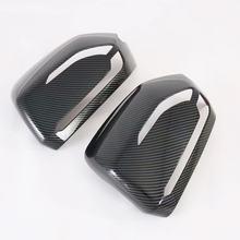 Для Hyundai Palisade 2020 2 шт. ABS защитная рамка для боковой двери автомобильного зеркала заднего вида аксессуары для стайлинга автомобиля