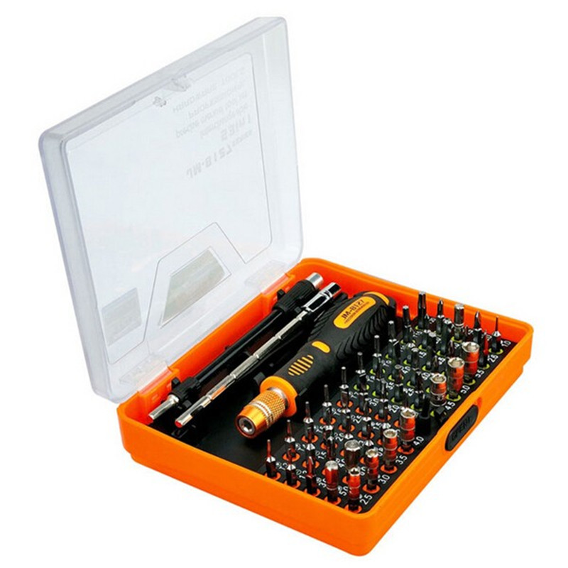 JAKEMY JM-8127 54 In 1 Interchangeable Magnetic Multipurpose Screwdriver Set Repairtools