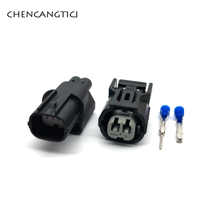 1 Set/pcs 2 Pin/way Honda Inlet Pressure Sensor Connector Male Or Female Waterproof Plug 6188-0590 6189-0891
