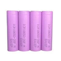 4PCS New battery 18650 2600mah 3.7V rechargeable batteries batteria for 18650 power bank DIY Flashlight Rechargeable Batteries     -