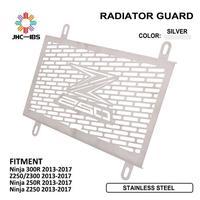 Protector de la cubierta del tanque de agua del radiador de refrigeración del motor de la motocicleta para Kawasaki Ninja 300R Z250 Z300 ninja 250R Z250 2013- 2017