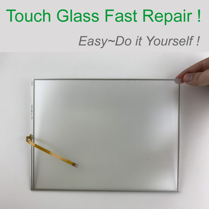 15 inch 4 wire 325*251mm Touch Screen Glass for Operator's Panel repair~do it yourself, Have in stock