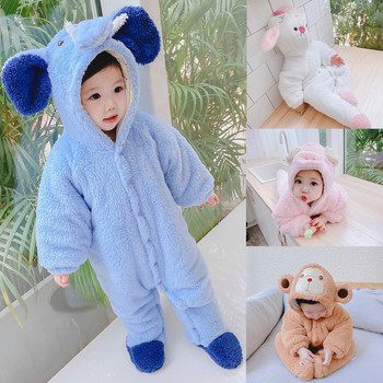 ARLONEET śpioszki dla niemowląt jesienno-zimowa niemowlę dziewczynek chłopców kreskówki owce pajacyki z kapturem ubrania kombinezon pajacyki de Baby Coat tanie i dobre opinie Unisex Moda W wieku 0-6m 7-12m 13-24m 25-36m 3-6y 7-12y 12 + y CN (pochodzenie) 10-8 COTTON Akrylowe REGULAR Pasuje prawda na wymiar weź swój normalny rozmiar