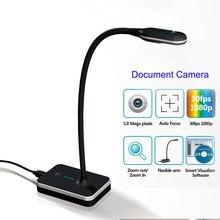 Eloam VH800AF 5MP A4 дизайн гусиная шея HD COMS гибкий USB Документ камера сканер визуализатор Автофокус OCR PDF