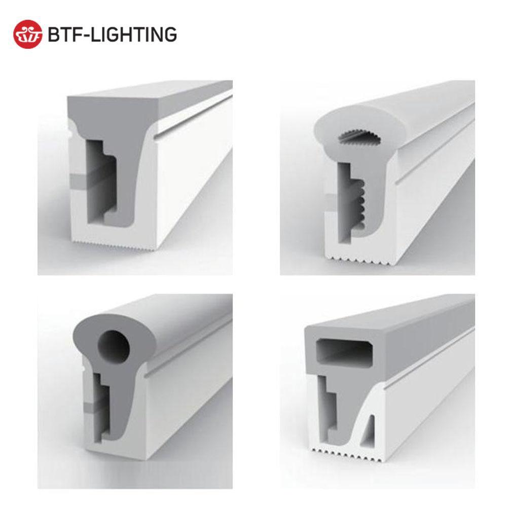 Светодиодный неоновый светильник SK6812RGBW WS2811 WS2812B WS2813, гибкий светодиодный светильник-полоска из силикагеля, мягкая Водонепроницаемая трубк...