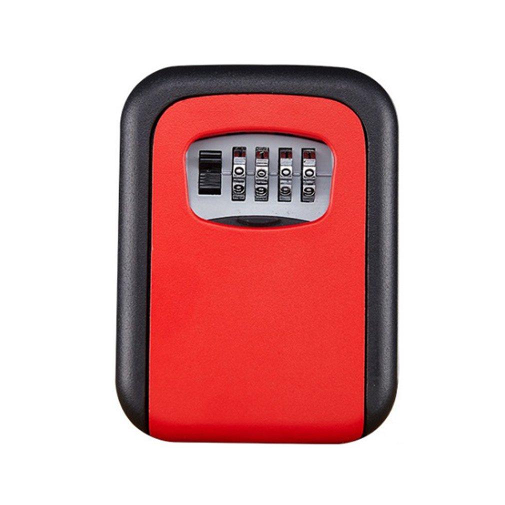 Home Password Key Box Mechanical Password Key Box Wall-Mounted Housekeeper Metal Key Box Wall-Mounted Key Box