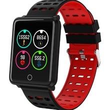 цена на F3 Smart Watch IP68 Waterproof Heart Rate Health Monitor Sleep Track Movement Smart Bracelet Bluetooth Smartwatch For IOS Xiaomi