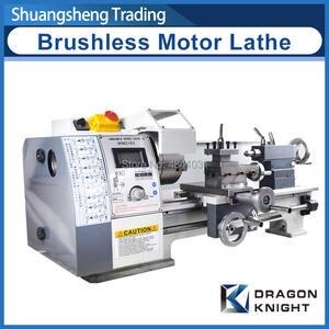 Spindle-Bore-Hole Lathe-Machine Brushless-Motor WM210V Mini Lathe/850w Steel-Gear All