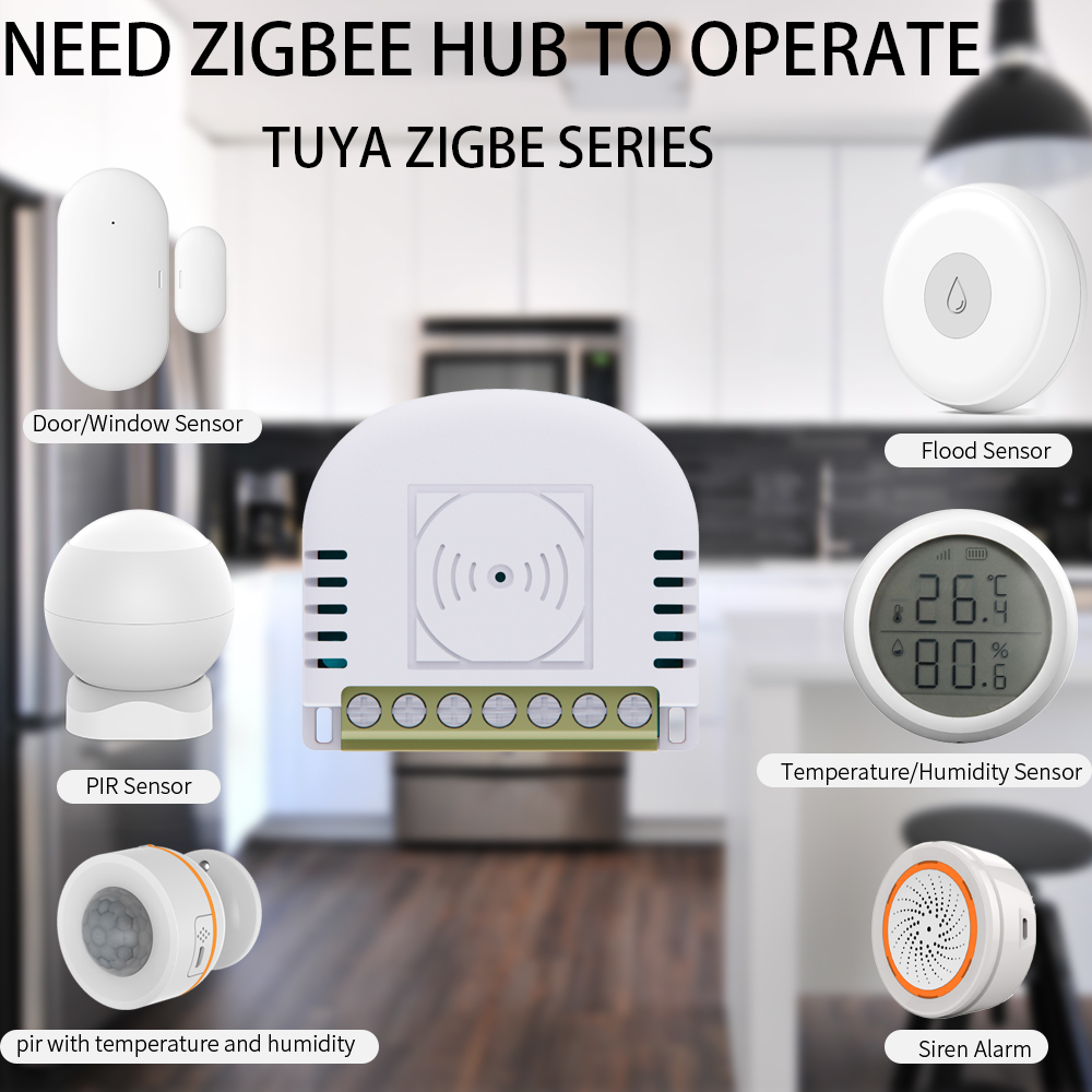 Atenuador de luz Zigbee sin Neutro