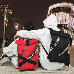 Image 2 - Couple bag Unisex Cool Backpacks Personality Fashion Oxford Cloth Bag Casual Art Unique Big Backpack Latest Popular Hip Hop Bag